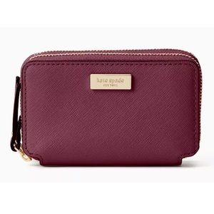 NWT Kate Spade Laurel Way Rosie Double Zip Wallet
